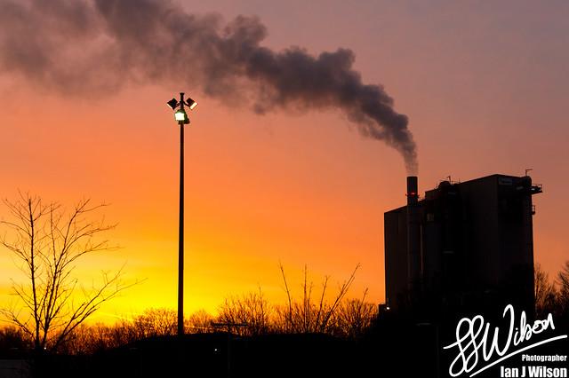 Industrial Dawn – Daily Photo (7th December 2012)