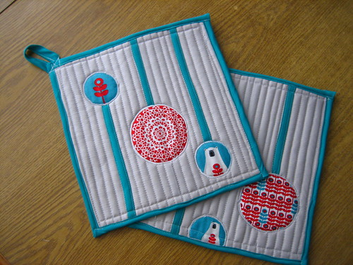 Polar Bear Potholders