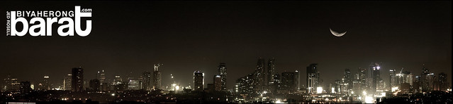 Metro Manila Skyline city scape nightscape