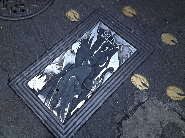 Decorative sidewalk cover