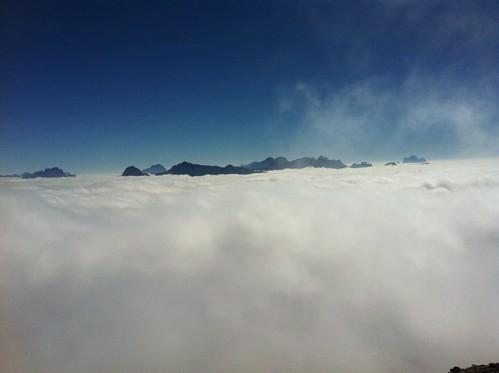 Gipfelblick Peitlerkofel