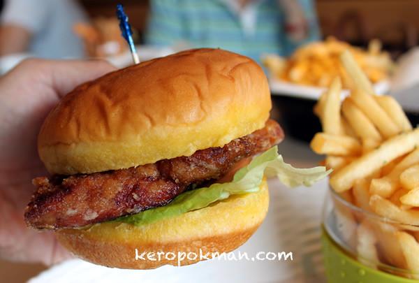 Omasake Burger @ The Grandstand