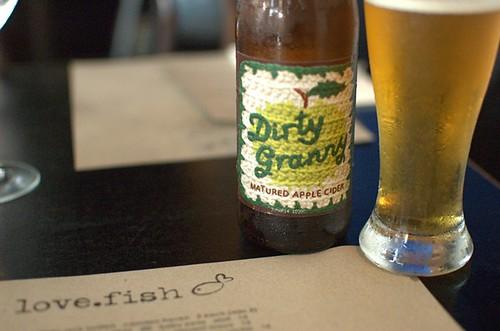 Dirty Granny cider