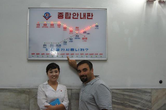 Pyongyang Subway Map
