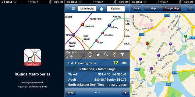 singapore useful app