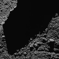 Comet 67P from a distance of 4km