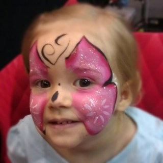 Rocking the face paint at telethon kids carnival