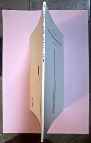 Wolf Erlbruch, L'anatra, la morte e il tulipano. edizioni e/o 2012. Grafica di W. E. e, per l'ed. it.: Emanuele Ragnisco. Quarta di copertina, dorso, copertina (part.), 1