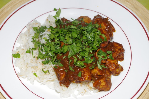 Chicken vindaloo by La belle dame sans souci