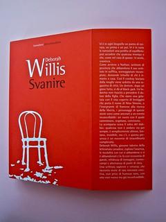 Deborah Willis, Svanire. Del Vecchio editore 2012. Grafica e impaginazione Dario Lucarini. Copertina e risvolto (part.), 1