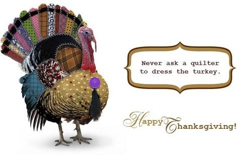 Quilter's turkey