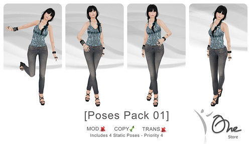 Pack 01 Poses