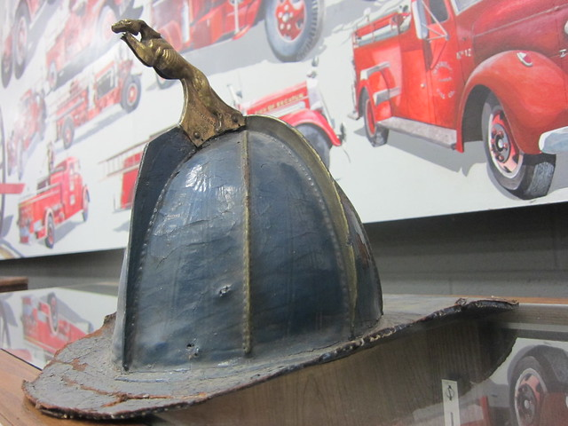 Antique Fire Helmet