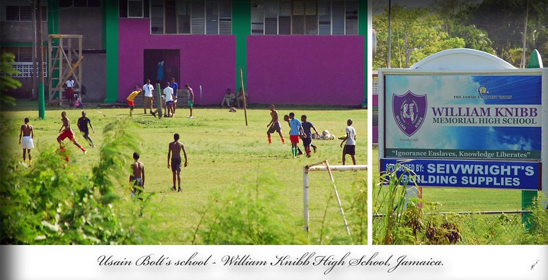 Usain Bolt's school