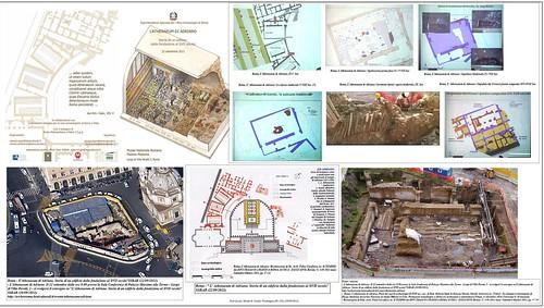 Roma archeologia l edifico era a due piani e resale al for 2 piani di cabina di ceppi di storia
