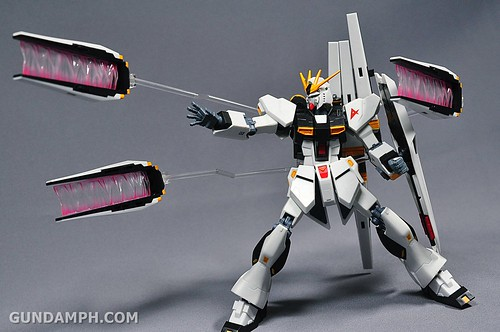 Robot Damashii Nu Gundam & Full Extension Set Review (44)