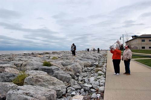 Lake Michigan after Sandy 20