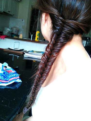 lara fishtail braid