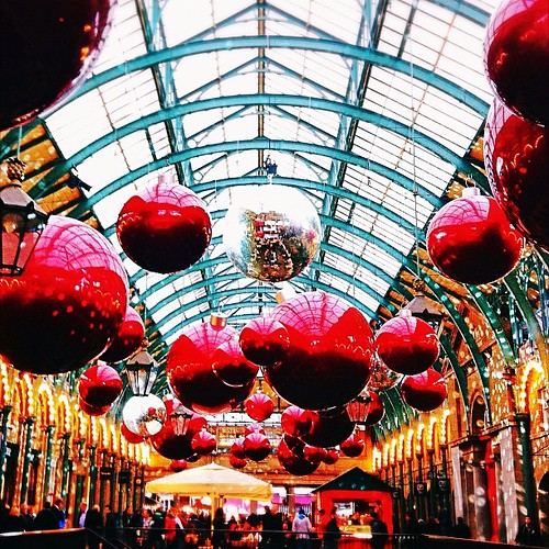 The Covent Garden Christmas decorations are back!