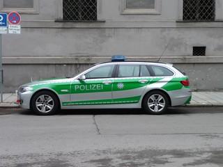 Carrito de policia