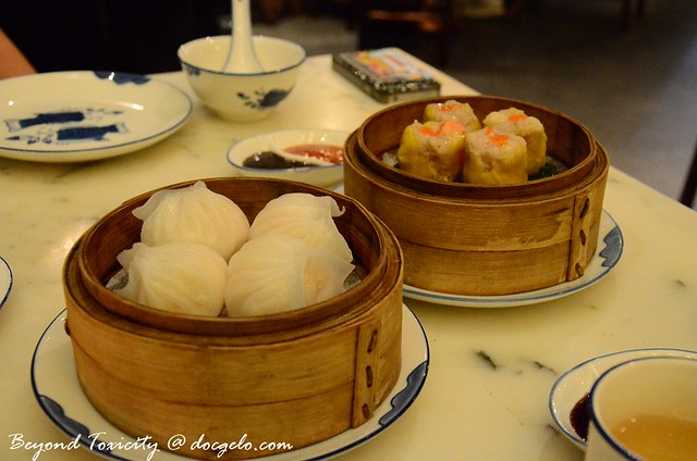 dim sums at luk yu tea house