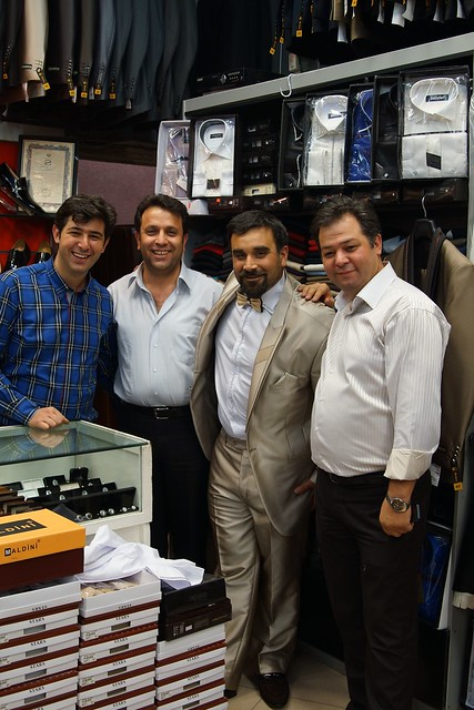 Buying Iranian Suits