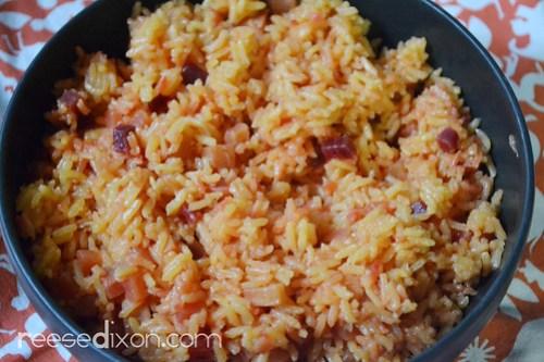 Root Vegetable Rice Pilaf