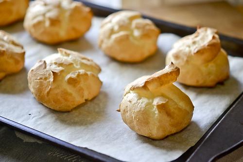 Pumpkin-Filled Cream Puffs 11