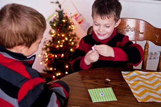 Opening the First Advent Envelope