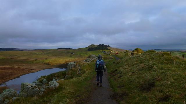 Hadrians Wall, Crag Lough