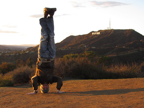 5. hollywood headstand