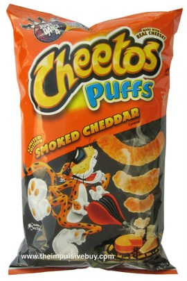 Limited Edition Smoked Cheddar Cheetos Puffs