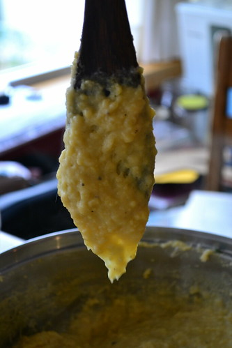 Garbanzo Polenta - Mixed Up
