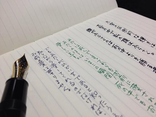 "MIDORI Notebook ""Dainel"""