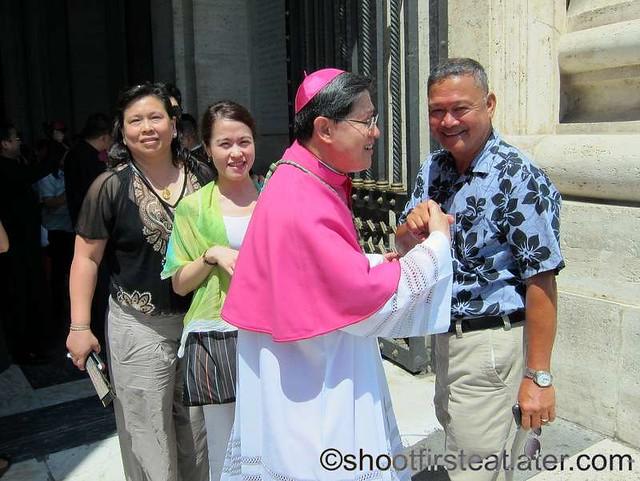 Papal mass at the Vatican- Archbishop Luis Antonio Tagle-004