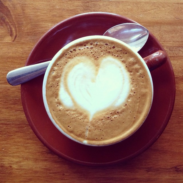 macchiato @ Once Over Coffee
