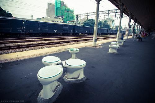 taichung toilet art