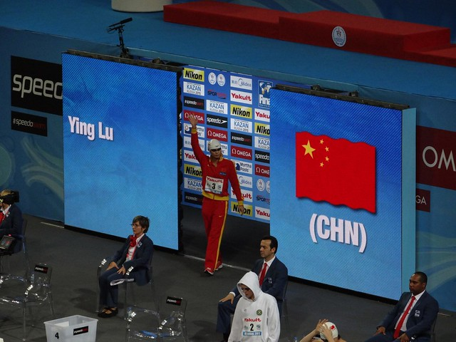 Ying Lu enters the Istanbul 2012 arena