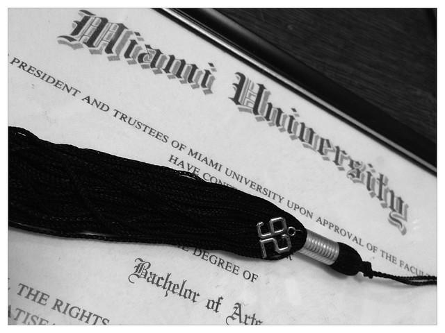 Diploma & Tassle