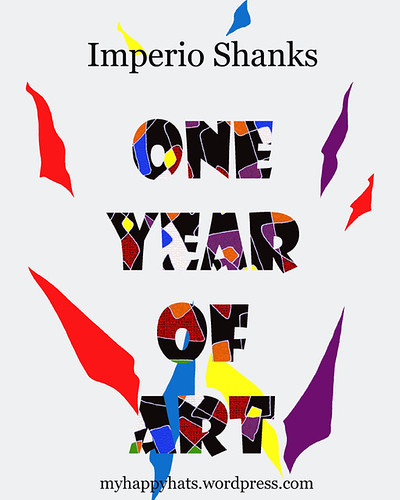 One Year of Art book on Kindle