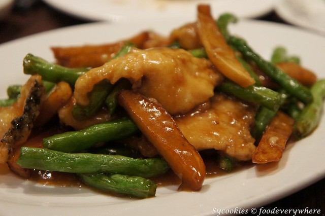 13.Stir fried fish RM 20 @ dragon i
