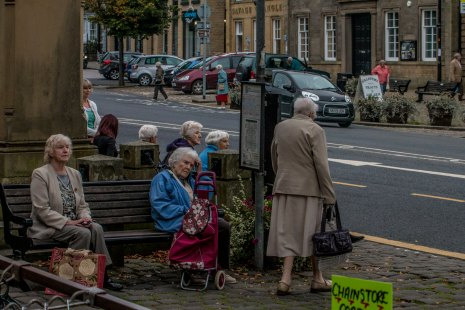 A gathering in Skipton