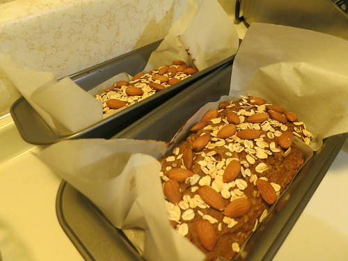 Pear and apple quick bread