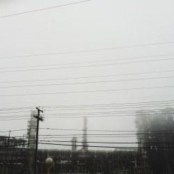 refinery-in-fog