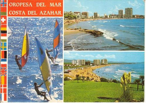 Playas de la concha y morro de gos. Finales años 70