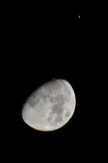Moon and Jupiter 2