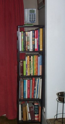 Kitchen cookbooks (partial collection here)