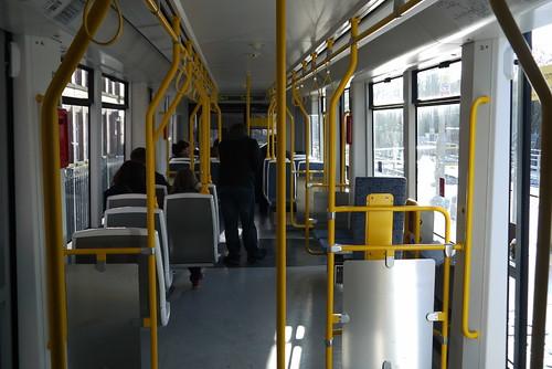 M5000 interior, Shaw and Crompton station