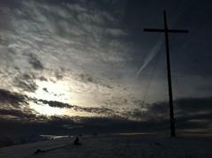Gipfelkreuz Astjoch 2.194 m