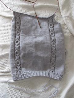 Front of vest.